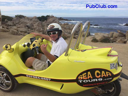 Sea Car Tours  ::  See Monterey Bay in The Coolest Scooter