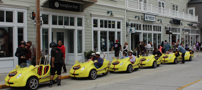 Corporate Outing with Sea Car Tours